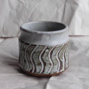 Handmade Pottery Bud Propagation vase